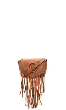 Ariana Crossbody en Saddle