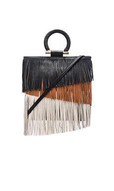 Rachael Bag in Black, Camel, & Ivory