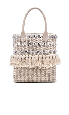 Tori Sequin Tote in Modern Ivory