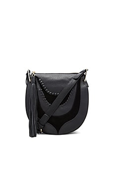 Sienna Shoulder Bag in Black