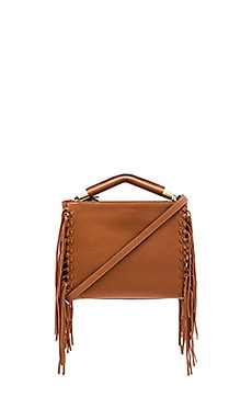 Zoey Shoulder Bag in Cognac