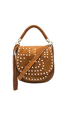 Heidi Saddle Bag in Cognac