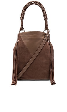 Monica Bucket Bag in Truffle