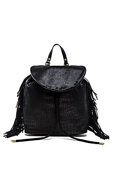 Sam Edelman Fringe Backpack in Black