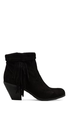 Louie Boot in Black Suede