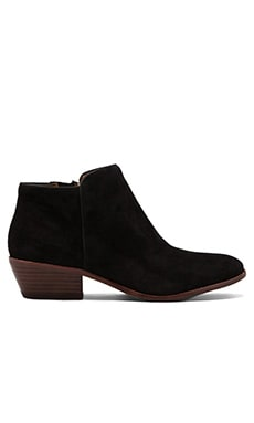 Sam Edelman Petty Boot in Black Suede