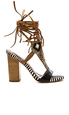 Sam Edelman Yates Heel in Black & Soft Saddle
