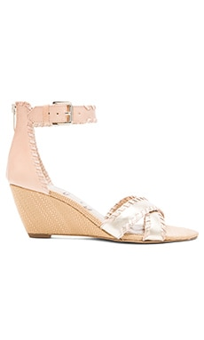 Sam Edelman Silvia Sandal in Light Gold & Natural
