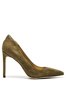 Sam Edelman Dea Heel in Moss Green