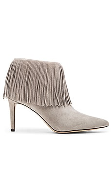 Kandice Bootie in Grey Suede