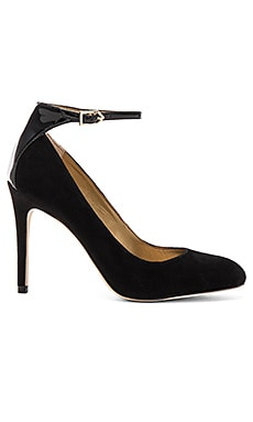Sam Edelman Ciara Heel in Black Suede