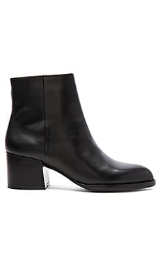 Sam Edelman Joey Bootie in Black Leather