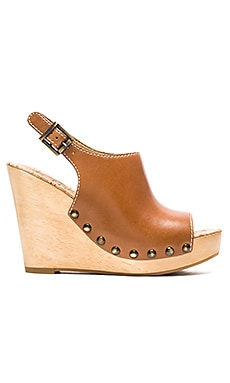 Sam Edelman Camilla Wedge in Saddle