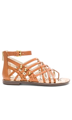 Sam Edelman Gardener Sandal in Saddle Leather