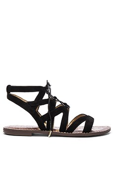 Sam Edelman Gemma Sandal in Black