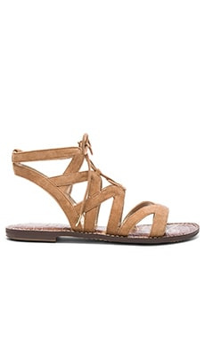 Gemma Sandal in Golden Camel