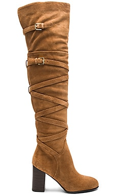 Sable Boot in Camel Suede