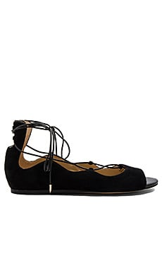 Barbara Flat in Black