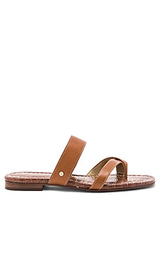 Bernice Sandal in Saddle