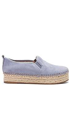 Carrin Slip On in Dusty Blue