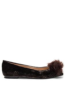 Raddie Faux Fur Flat