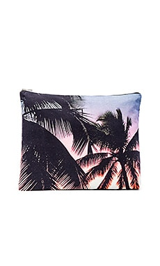 Makaha Sunset Jumbo Pouch in Multi