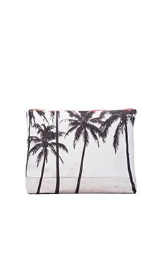 Kalapana Pouch in Black & White