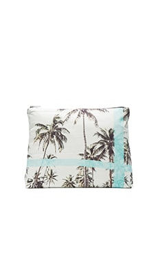 Original Pouch in Blue Palms