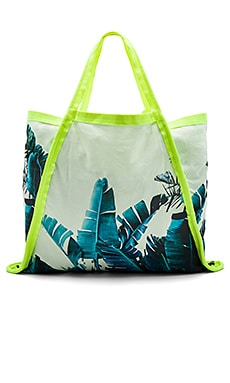 Asymmetrical Tote Bag in Byron Birds