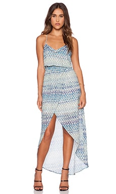 Sanctuary Waterfall Dress in Blue Island