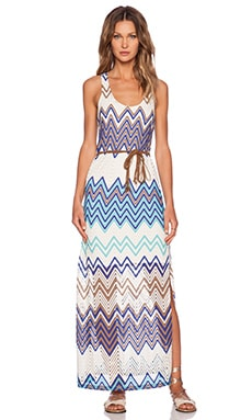 Sanctuary Island Maxi Dress in Island Macrame