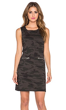 Sanctuary Mod Molly Mini Dress in Mink Camo
