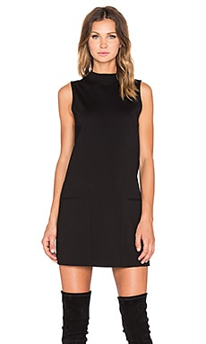 Sanctuary Mod Mini Dress in Black
