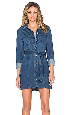 Sanctuary Denim Lex Shirtdress in Charmed Wash