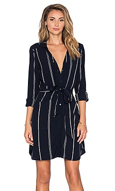 Sanctuary Anna Shirtdress in Marine Ticking Stripe
