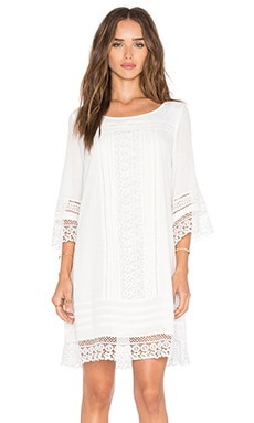 Desert Boheme Dress in White
