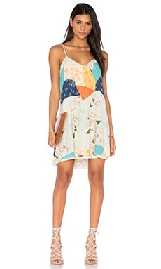 Spring Fling Dress in Far East Rising