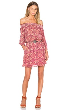 Elle Dress in Sunset Boho