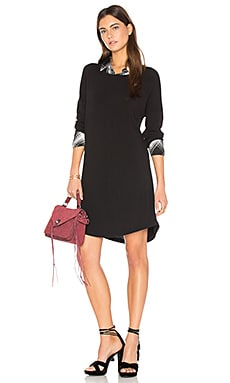 Rory Dress in Black & Benatar Plaid