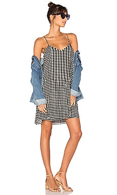 Spring Fling Dress in Picnic Gingham