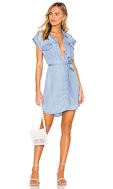 Dusty Sleeveless Shirt Dress Sanctuary $129 NEW ARRIVAL