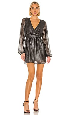 It's Party Time Faux Wrap Dress Sanctuary $25 (FINAL SALE)