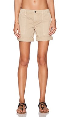 Sanctuary Peace Bermuda Short in Sandstone