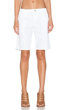 Sanctuary Peace Bermuda Short in White