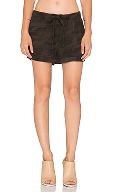Sanctuary Soft Private Ben Shorts in Charcoal Camo