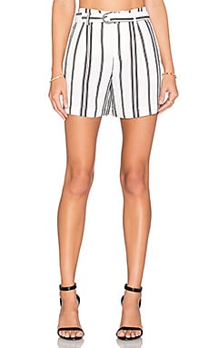 Essential Boulevard Short in Freedom Stripe