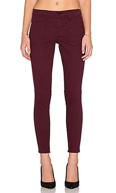 Union Skinny Jean in Mulberry