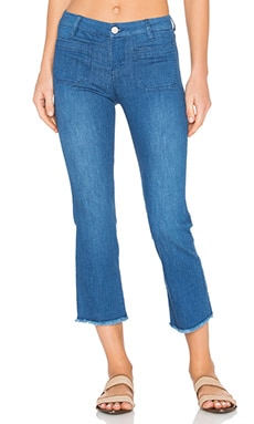 Marianne Frayed Crop Pant