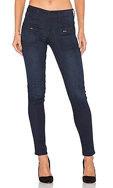 Sanctuary Ace Utility Skinny Jean in Haven Wash