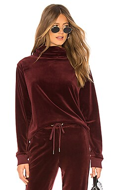 Velour Cowl Pullover Sanctuary $37